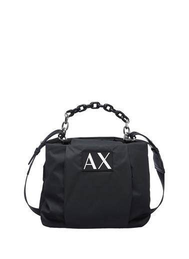 Armani Exchange Armani Exchange Kadın Siyah El Çantası Siyah